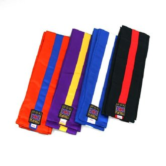 Kung Fu Sashes With Stripes