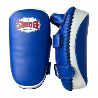 Sandee Muay Thai Leather Curved Kick...