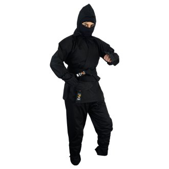 Ninja Outfit: Black Children's - 10oz