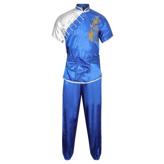 Competition Wushu Silk Uniform -...
