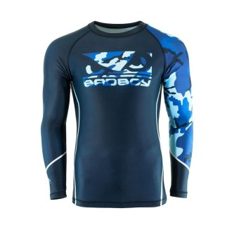 Bad Boy MMA Soldier Blue Camo Rash Guard