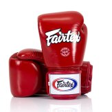 Fairtex BGV1 Red Universal Leather Boxing Gloves