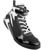 Venum Elite Low Top Giant Boxing shoes - Black/ White
