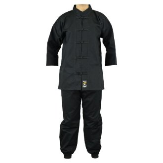 Kung Fu uniform: All Black: Children's