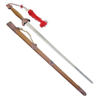 Antique Tai Chi Sword - (D490) - B7