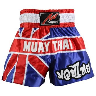 Muay Thai Competition Fight shorts - Uk Flag