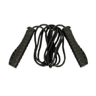Deluxe Black PVC Skipping Rope
