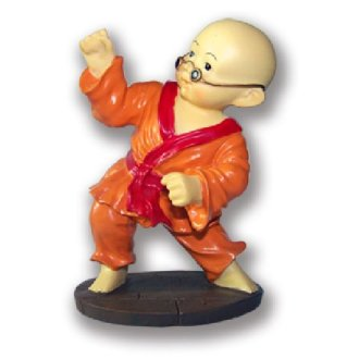 Figure: Shaolin Orange Uniform Monk -...