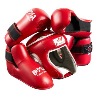 Red Ultimate Semi Contact Sparring Set