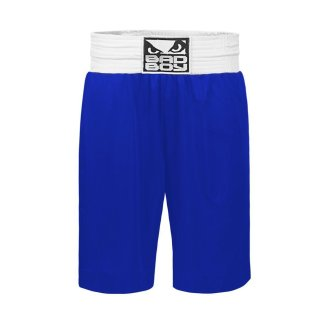 Bad Boy Pro Boxing Shorts - Blue