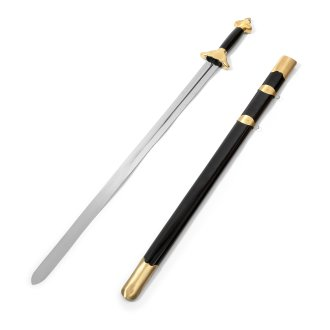 LongQuan Tai Chi Sword - Black/Gold