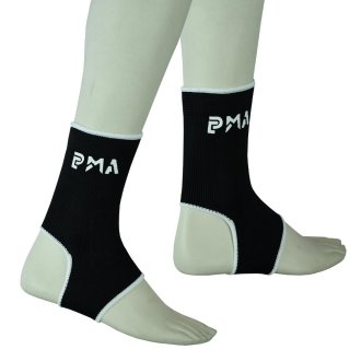 PMA Muay Thai Black Ankle Supports