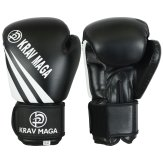 Krav Maga Black Elite Boxing Gloves