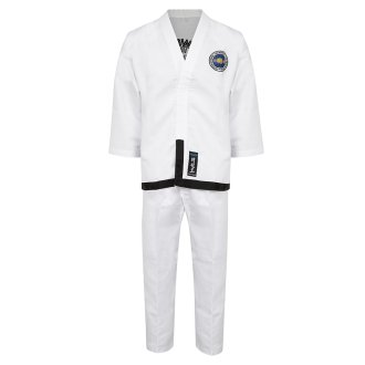 ITF Taekwondo Diamond Elite Black Belt Suit
