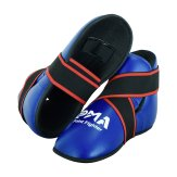 Semi Contact Point Sparring Boots - Blue - NEW