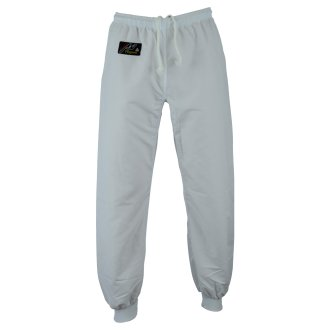 Elite Kung Fu Microfibre Trousers White