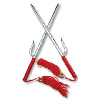 Martial Arts Weapons, Kamas, sais, octagonal, round, alumnium, sharp