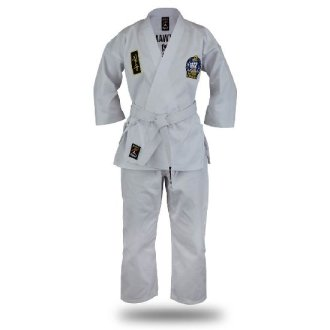 Official Kids Choi Kwang Do White Students Uniform