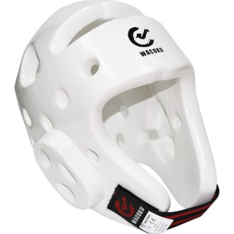 WTF Approved White Dipped Foam Head Guard - XL