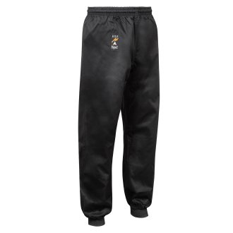 Kung Fu Childrens Black Trousers 9oz :...