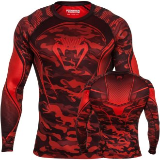 "Venum MMA ""Camo Heroes"" Long Sleeve Red..."