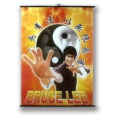 Large Bruce Lee Wall Poster Scroll: NO6