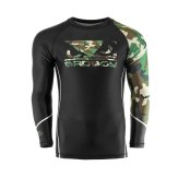 Bad Boy MMA Soldier Forest Camo Rash Guard