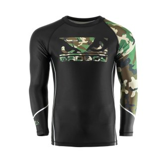 Bad Boy MMA Soldier Forest Camo Rash...