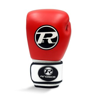Ringside Boxing Leather Club Gloves Red...