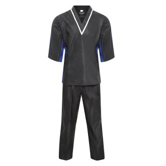 Elite Freestyle V-Neck Team Uniform - Black/Blue