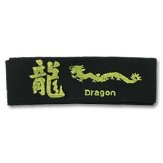 Black Dragon Headband 14