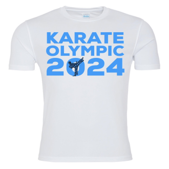 Karate Olympic 2024 T Shirt - Blue