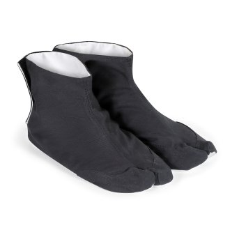 Ninja Indoor Tabi Socks: Black - Canvas...