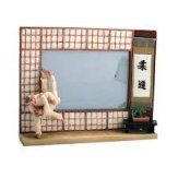 Martial Arts Judo Photo Frame: RESIN