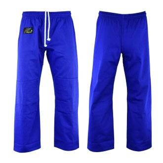 Judo Trousers: Bleached (Blue) 10oz -...