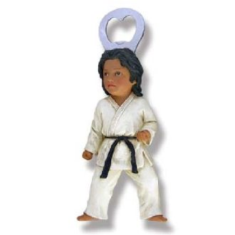 Martial Arts Karate Figure - Bottle...