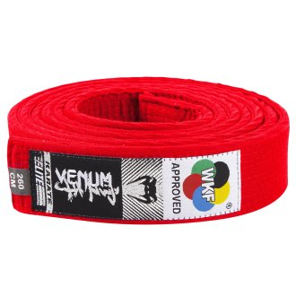 Venum WKF Approved Karate Red Belt