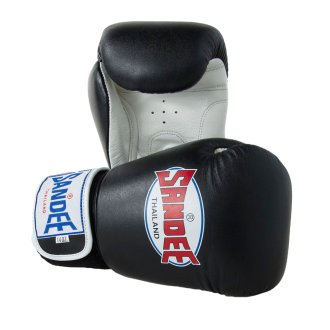 Sandee Authentic Leather Boxing Gloves...
