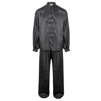 Tai Chi / Kung Fu Silk Uniform - Black