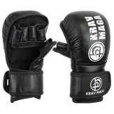 Krav Maga Leather Sparring & Grappling Shooto Glove - 7oz