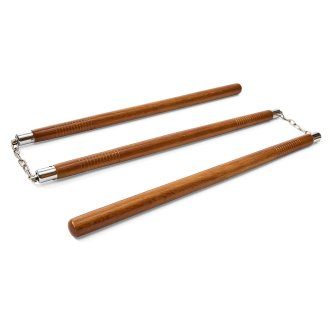 Three Sectional Staff - Red Oak - With...