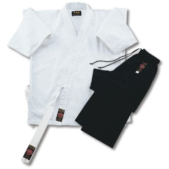 Karate Uniform Mixed: White / Black...
