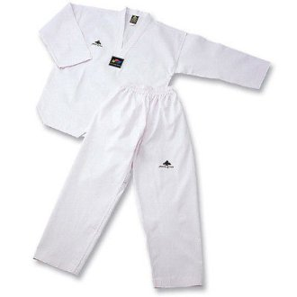 WTF Approved Pine Tree White V-Neck Tkd...