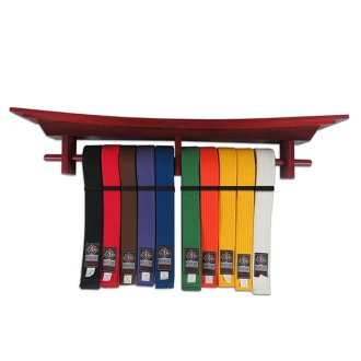 Martial Arts Tori Gate Belt Display -...
