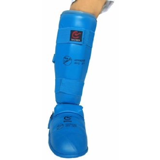 EKF Approved Karate Shin Instep Guards