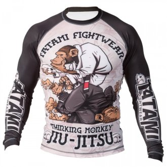 "Tatami ""Thinker Monkey"" Long Sleeve..."