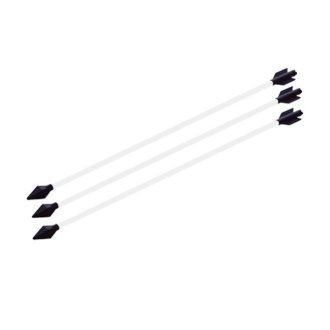 Black Polypropylene Spare Arrows
