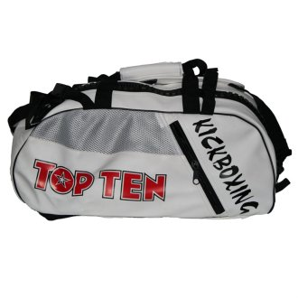 Top Ten White KickBoxing Sports Bag -...