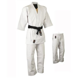 Karate Uniform: Heavyweight Gold Brand...