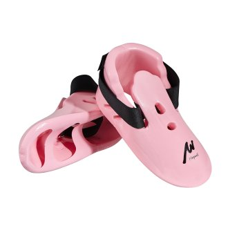 Dipped Foam Sparring Boots - Pink